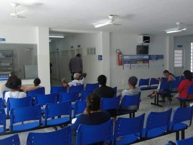 Pacientes em posto de saúde da Capital. (Foto: Arquivo)