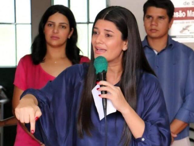 Governadora em exercício, Rose Modesto, PSDB. (Chico Ribeiro/Governo do Estado).
