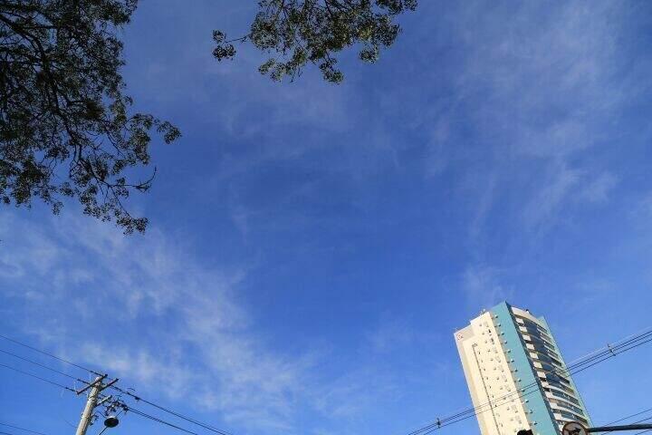 Capital terá máxima de 32ºC e sem previsão de chuva. (Foto: Alcides Neto)