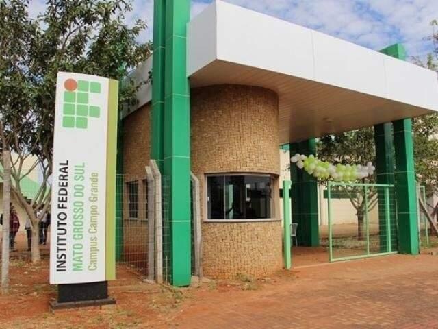 Instituto Federal de Mato Grosso do Sul em Campo Grande (Foto: Divulgação)