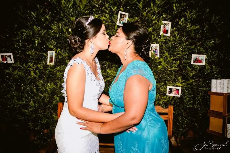 Mãe e filha se amam e fizeram tudo juntas  (Foto:  Jesleni Souza)