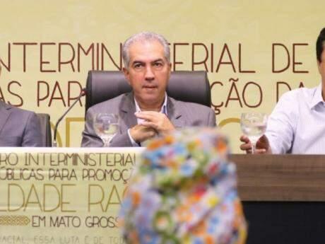 Governador de MS, Reinaldo Azambuja, PSDB. (Foto: André Bittar).