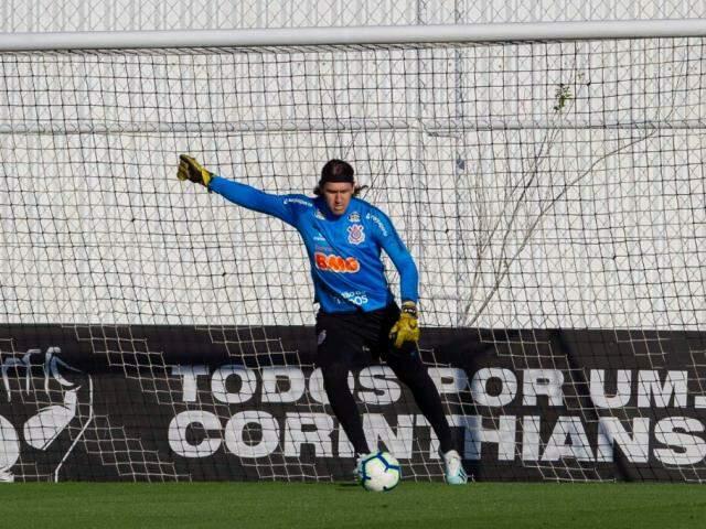 Cássio volta ao gol do Corinthians nesta noite (Foto: Daniel Augusto Jr./Agência Corinthians)