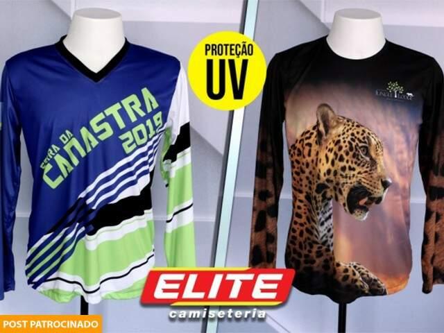 Camisetas manga longa dry fit com proteção UV a partir de R$ 49,90.(Foto: Divulgação)