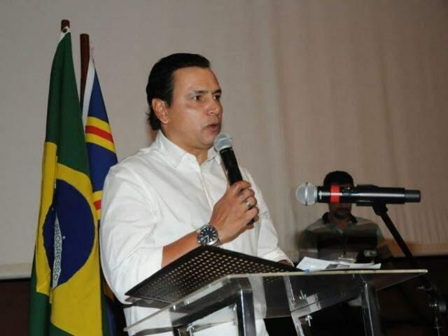 Diretor-presidente da Fundesporte, Marcelo Miranda, diz que valores são para garantir realização de jogos (Foto: Paulo Francis/Arquivo)