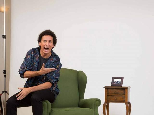 Stand up de Rafael Portugal será no Teatro Dom Bosco. (Foto: Divulgação)