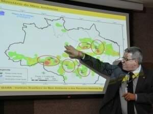 Alertas de desmatamento aumentaram, segundo Luciano de Menezaes Evaristo, diretor de Proteção Ambiental do Ibama (Foto: Valter Campanato/Abr)