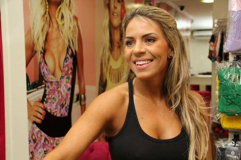 A empresária Juliana se preocupou em trazer grandes marcas, antes encontradas apenas no eixo Rio-São Paulo. (Foto: Marcos Ermínio)
