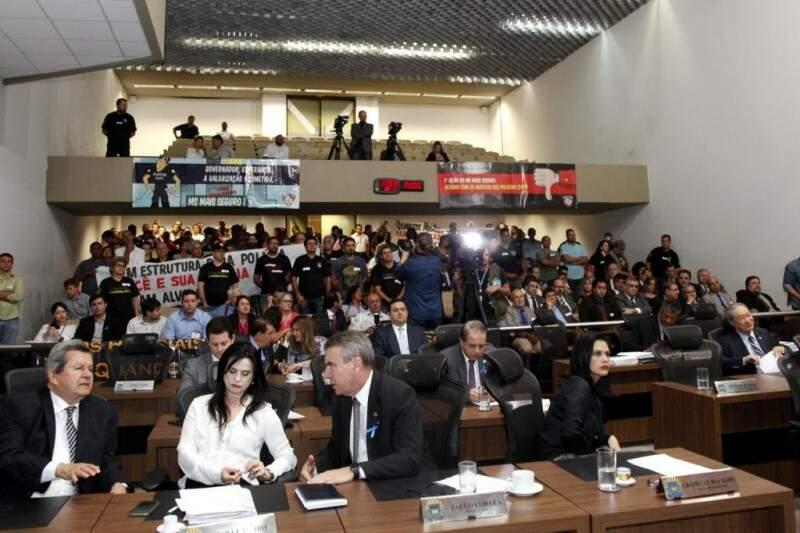 Evento será realizado no plenário da Assembleia (Foto: Assessoria/ALMS)