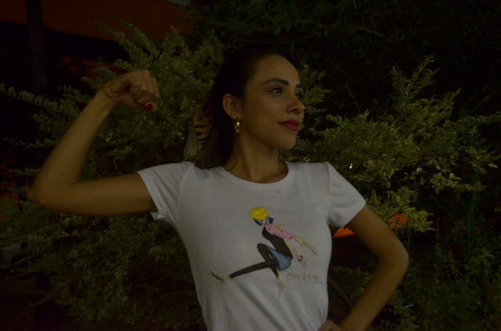 """Lola Lima acredita no poder do lema """"Eu quero! Eu posso! Eu consigo!"""" (Foto: Gustavo Maia)"""