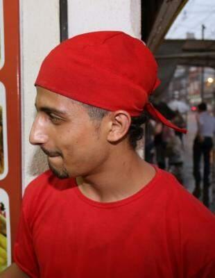 Ahmad veio há menos tempo para a Capital e define a cidade como tranquila
