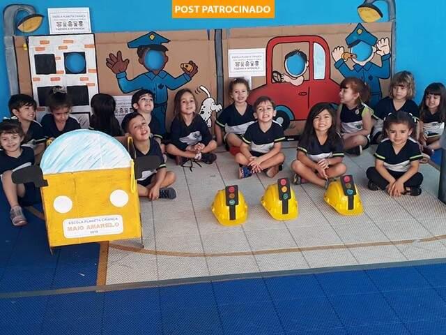 Os alunos aprendem através das vivências dentro da escola, de um modo dinâmico, inovador e criativo. (Foto: Divulgação)