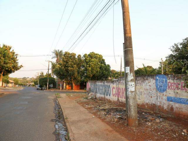 A via hoje se chama Amaro Costa Lima. (Foto: Paulo Francis)