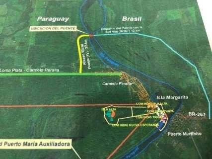 Aberta a licitação para construção da ponte sobre o Rio Paraguai
