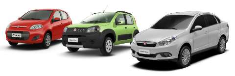 Recall: Fiat convoca proprietários dos veículos Uno, Novo Palio, Grand Siena