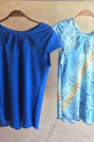 Blusas super primavera/verão por R$ 17,90.