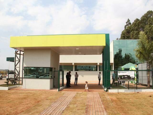 Fábrica de fertilizantes inaugurada nesta quarta (Foto: Marcos Ermínio)