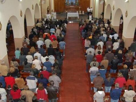 Igreja Perpétuo Socorro é uma das mais movimentadas em Campo Grande. (Foto: Arquivo)