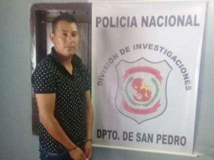Procurado por morte de policial em MS, pistoleiro é preso no Paraguai