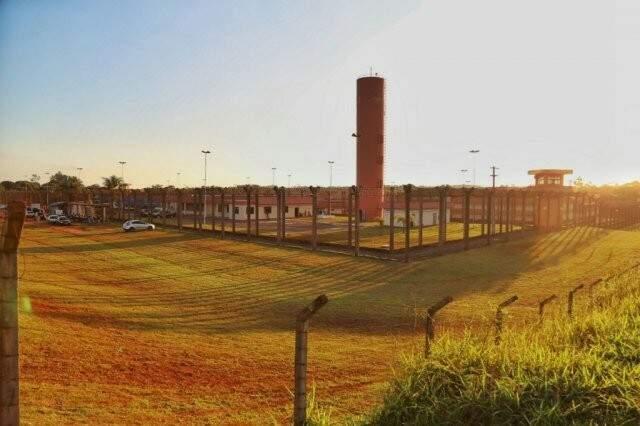 Penitenciária Federal de Campo Grande.(Fernando Antunes/arquivo)