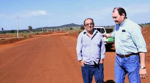 Governo suspende mais uma vez pavimentação da rodovia MS-382