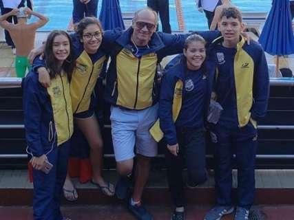 Nadadores de MS disputam Brasileiro Interclubes de Inverno em Belo Horizonte