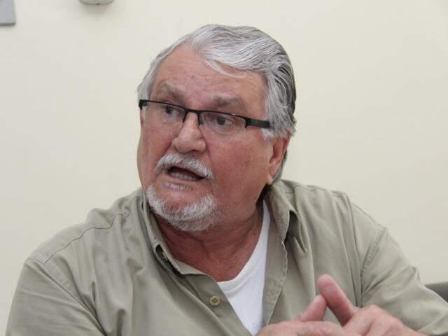 Deputado federal Zeca do PT confirmou que apoiará Reinaldo Azambuja na eleição (Foto: Kísie Ainoã)