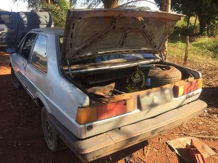 Polícia apreende 248 pneus e 51 câmaras de ar do Paraguai