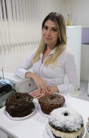 Thatiana Lobo Ramos criou a Sabor Fit para vender doce com saúde.