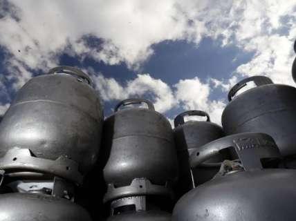 Mesmo com queda de 5%, preço de gás de cozinha continuará alto em MS
