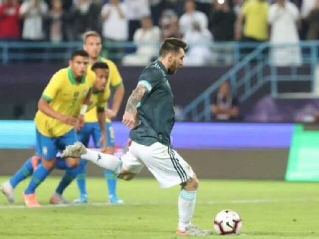 Jogo entre Brasil e Argentina (Foto: Divulgação/AFA)