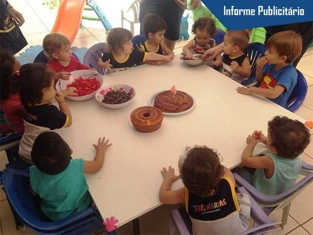 Escola oferece educação com carinho para as crianças e tranquilidade aos pais. Foto Divulgação