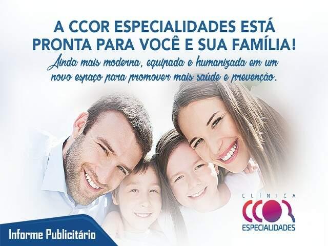 CCor Especialidades, mais cuidados para a saúde de toda a família