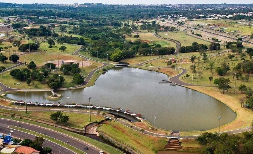 O Parque das Nações Indígenas é o que se pode chamar de cartão postal de Mato Grosso do Sul, o espaço público mais visitado de Campo Grande (Foto: Reprodução)