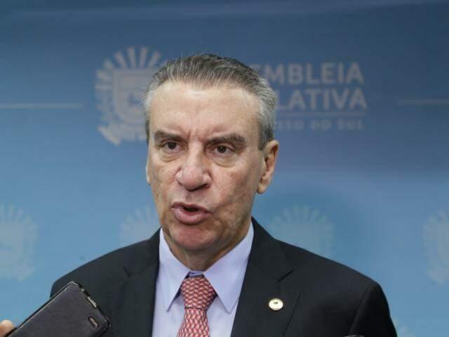 Presidente da Assembleia Legislativa de Mato Grosso do Sul, deputado Paulo Corrêa (PSDB) (Foto: Kisie Ainoã)