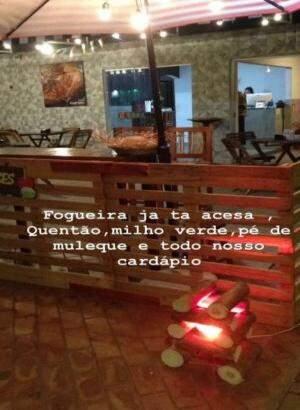 Local em clima de Festa Junina. (Foto: Divulgação)
