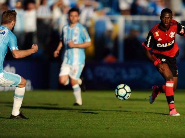 Leandro Damião foi quem fez o único gol do empate para o Flamengo. (Foto:Staff Images/Flamengo)