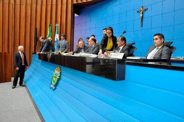 Projeto de reajuste foi enviado para Assembleia Legislativa (Foto: Luciana Nassar/ALMS)