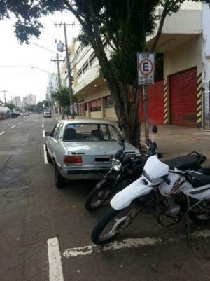Leitora se incomodou mais porque existiam vagas de carros disponíveis (Foto: Divulgação)