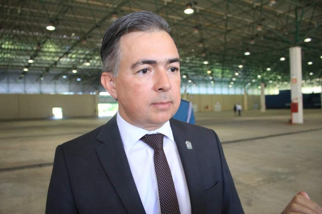 Secretário de Estado de Justiça e Segurança Pública, Antônio Carlos Videira (Foto: Marina Pacheco)