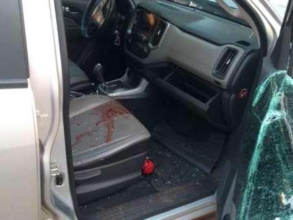 Empresário estava com R$ 63 mil quando foi baleado em camionete