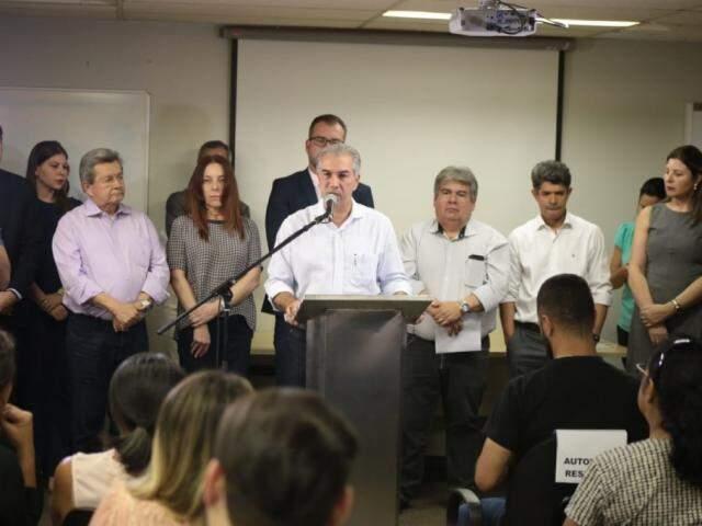 Governador confirmou aporte de R$ 9,5 milhões para construção de bunker para a radioterapia no HR. (Foto: Fernando Antunes)
