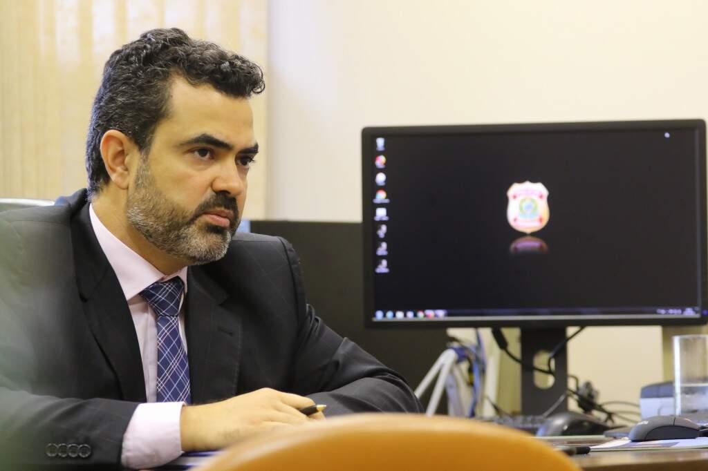 Para novo superintendente da PF, união entre policiais e militares seria produtiva. (Foto: André Bittar)
