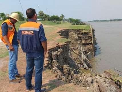 Empresa é contratada por R$ 427 mil para projeto contra erosão em barragem