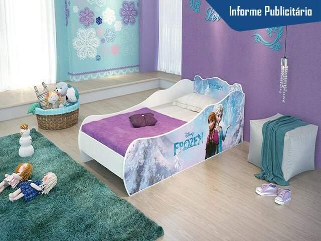 Cama da Frozen - Foto Divulgação