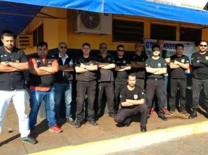 Agentes penitenciários ampliam greve em semana sem visita nos presídios