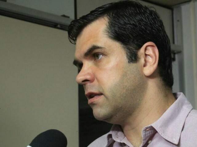 secretário de Estado de Saúde, Carlos Alberto Coimbra (Foto: Marina Pacheco)
