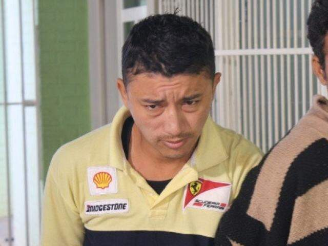 Marcelo, o Maré Alta, em 2013, ano em que foi preso pela Derf  por tráfico (Foto: Marcos Ermínio)