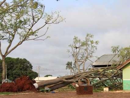 Após chuvarada, alerta de temporal continua para 40 cidades do Estado
