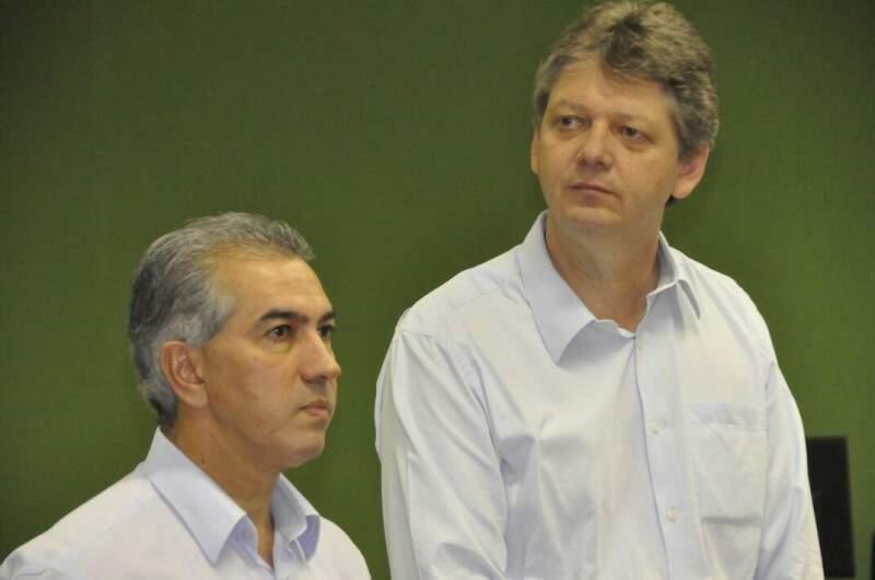 Licenciamentos serão emitidos com maior rapidez, segundo o governador Reinaldo Azambuja (Foto: Marcelo Calazans)